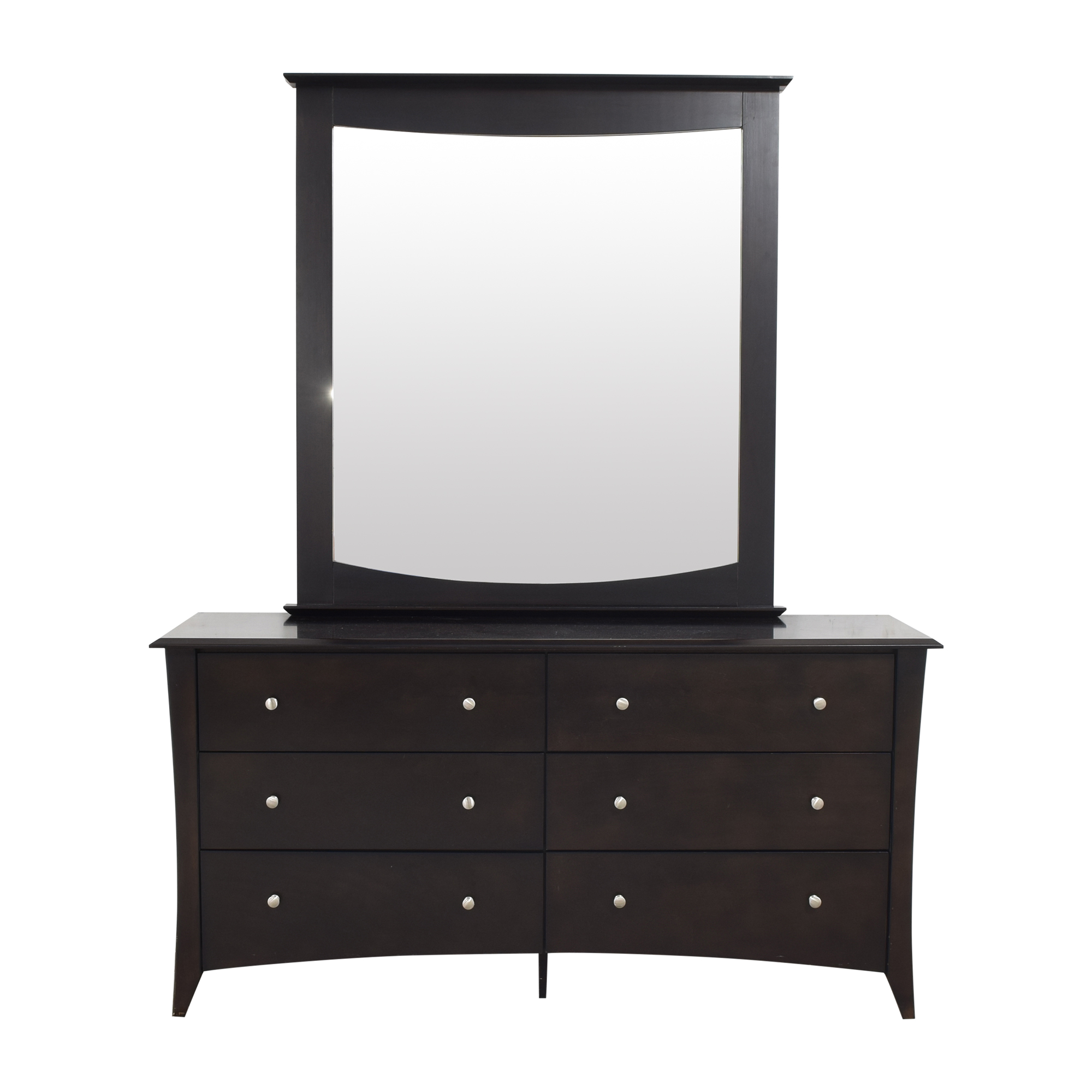 Double Dresser with Mirror dimensions