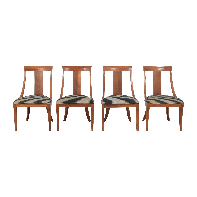 Ethan Allen Ethan Allen Medallion Dining Chairs price