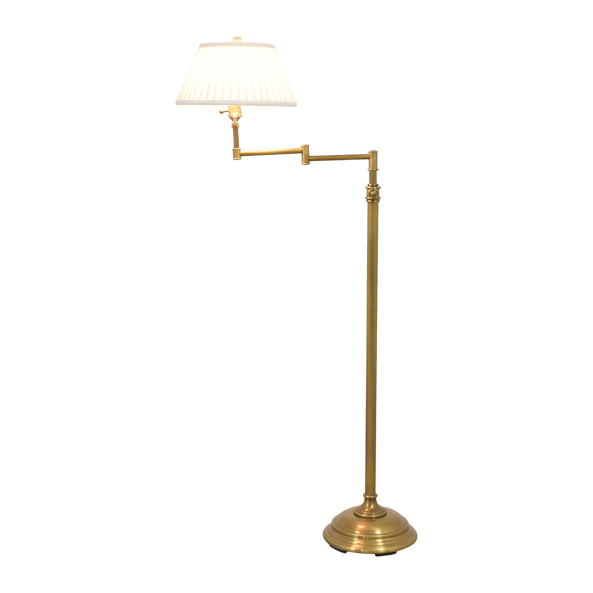 shop Swing Arm Floor Lamp  Lamps