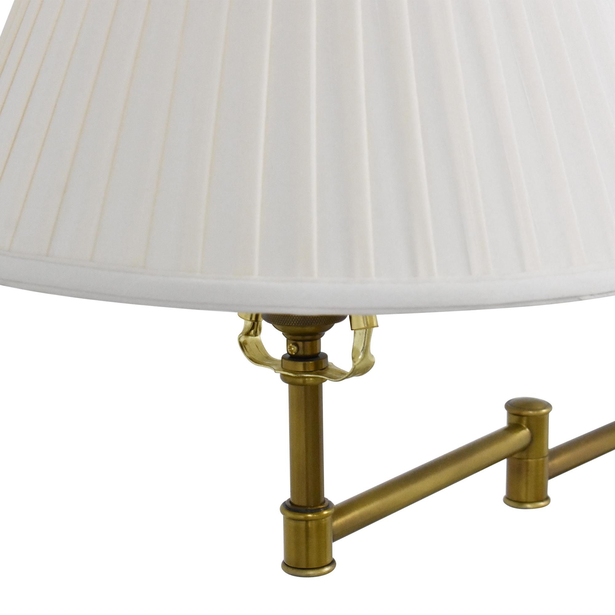 buy Swing Arm Floor Lamp  Lamps