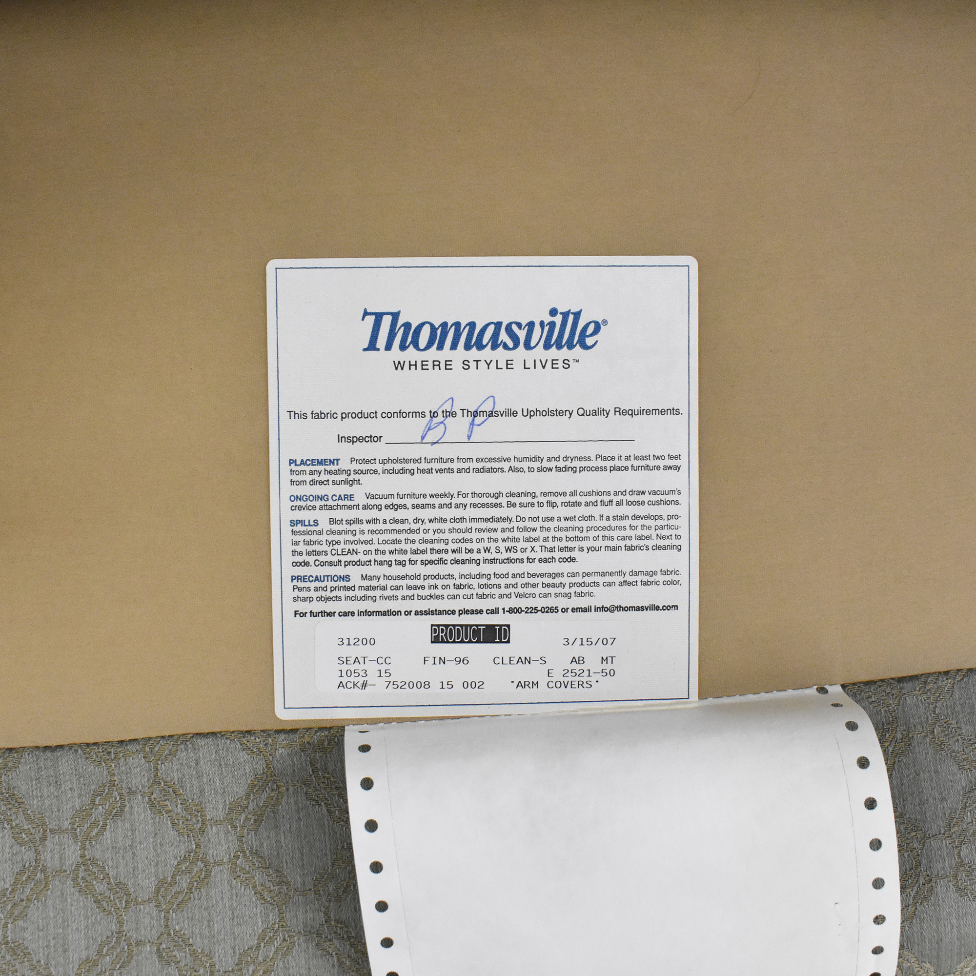 Thomasville Thomasville Wing Chair discount