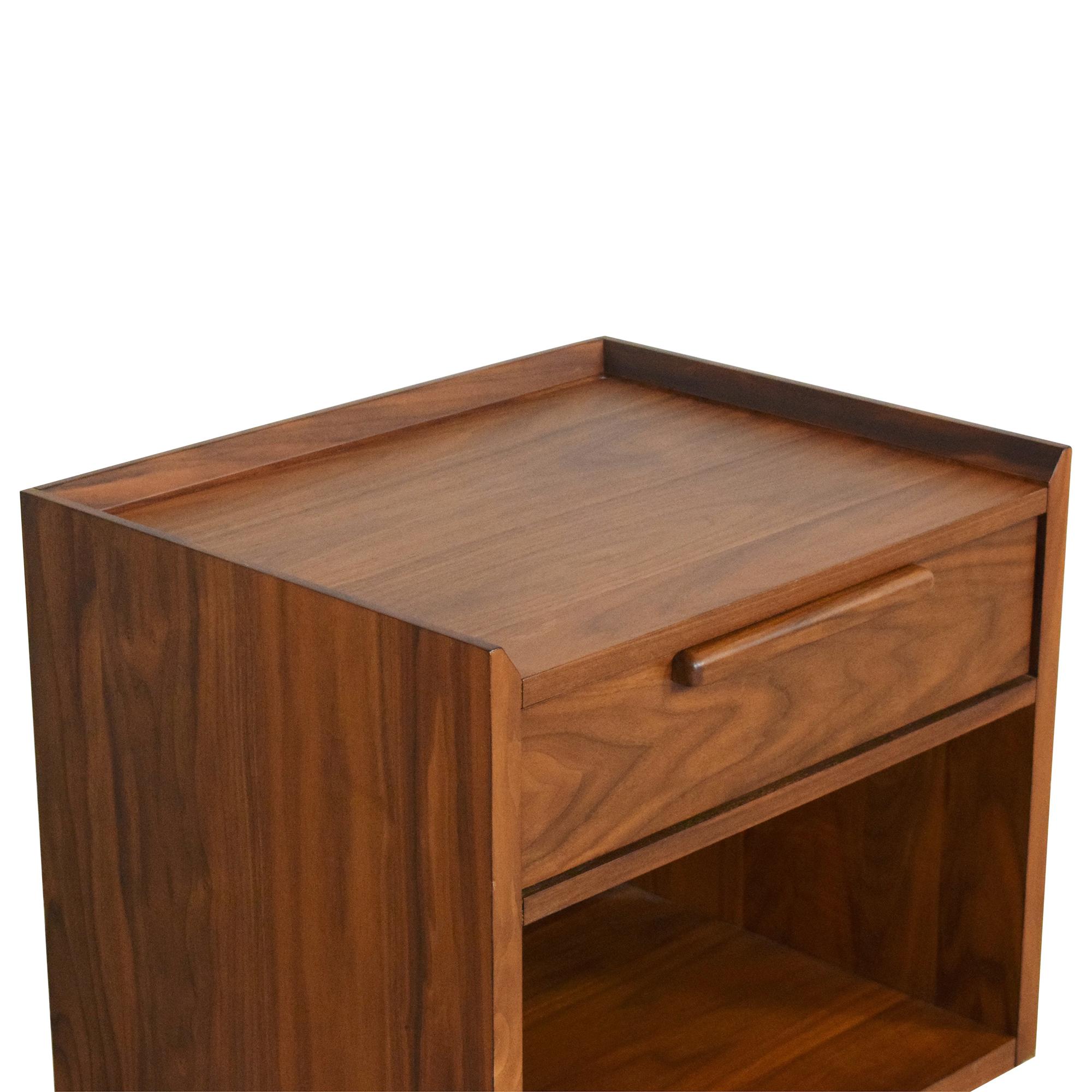 shop Crate & Barrel Tate End Table Crate & Barrel