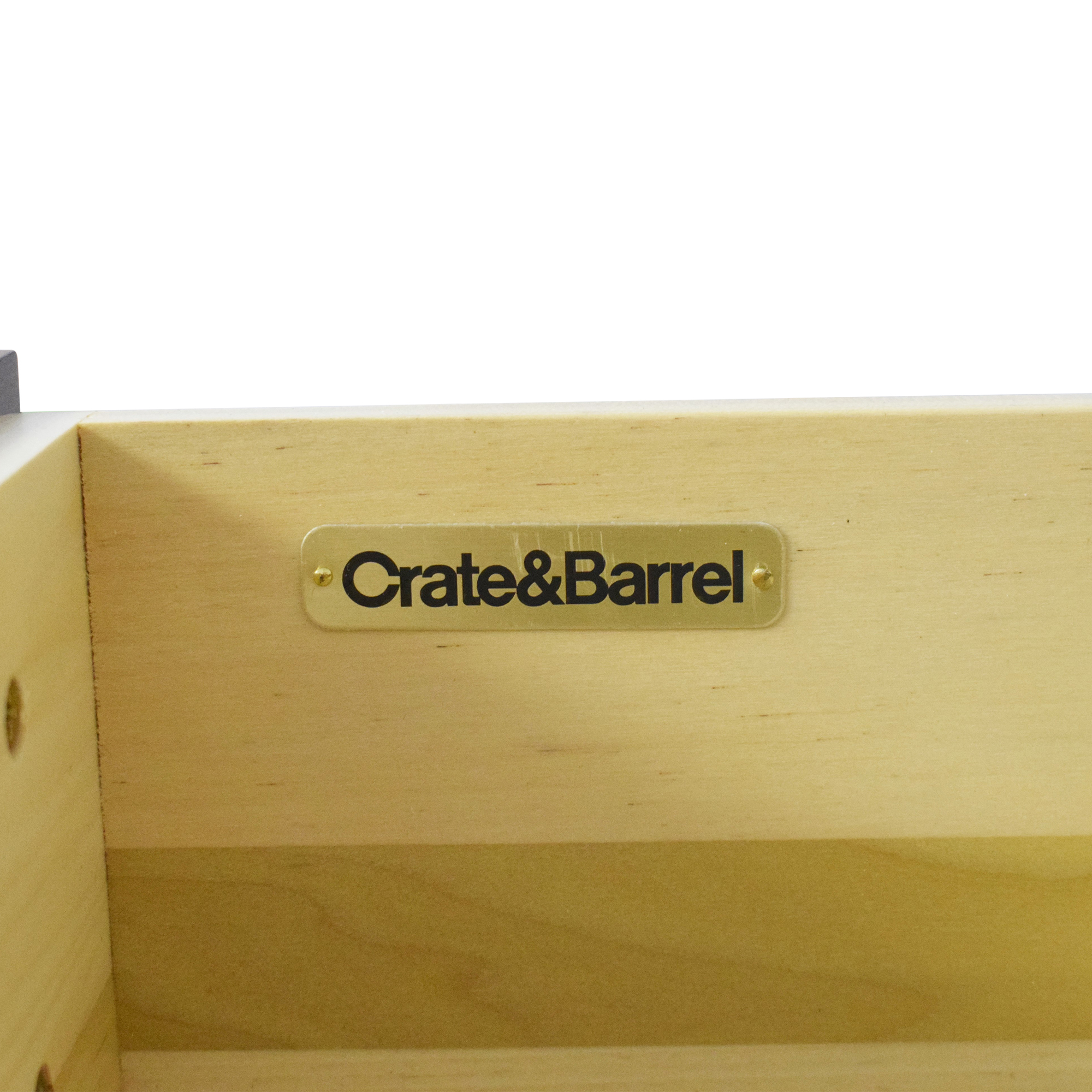 Crate & Barrel Crate & Barrel Tate End Table ct