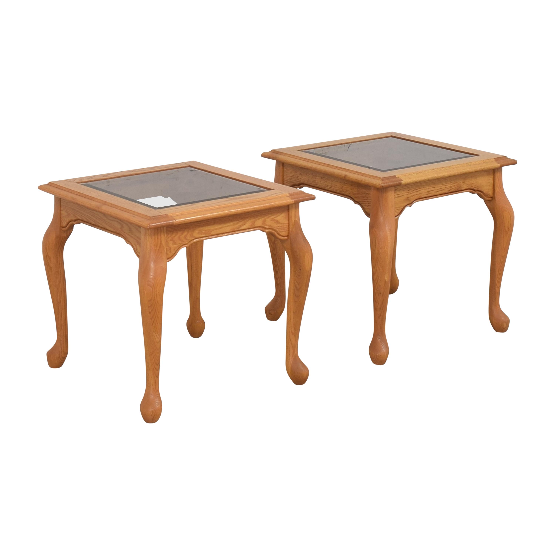 Heirloom Furniture Heirloom Furniture Square End Tables discount