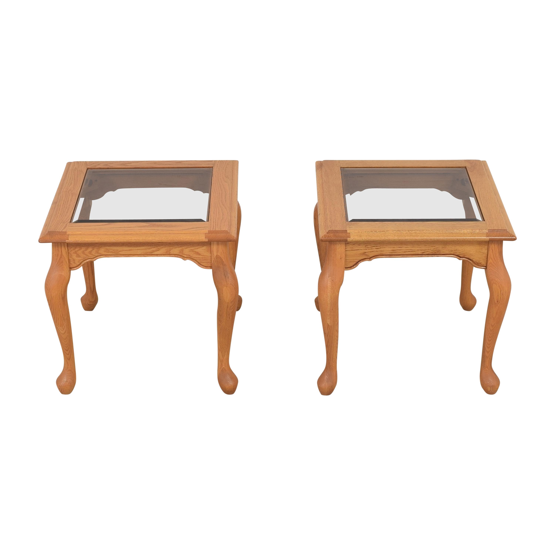 Heirloom Furniture Heirloom Furniture Square End Tables nyc