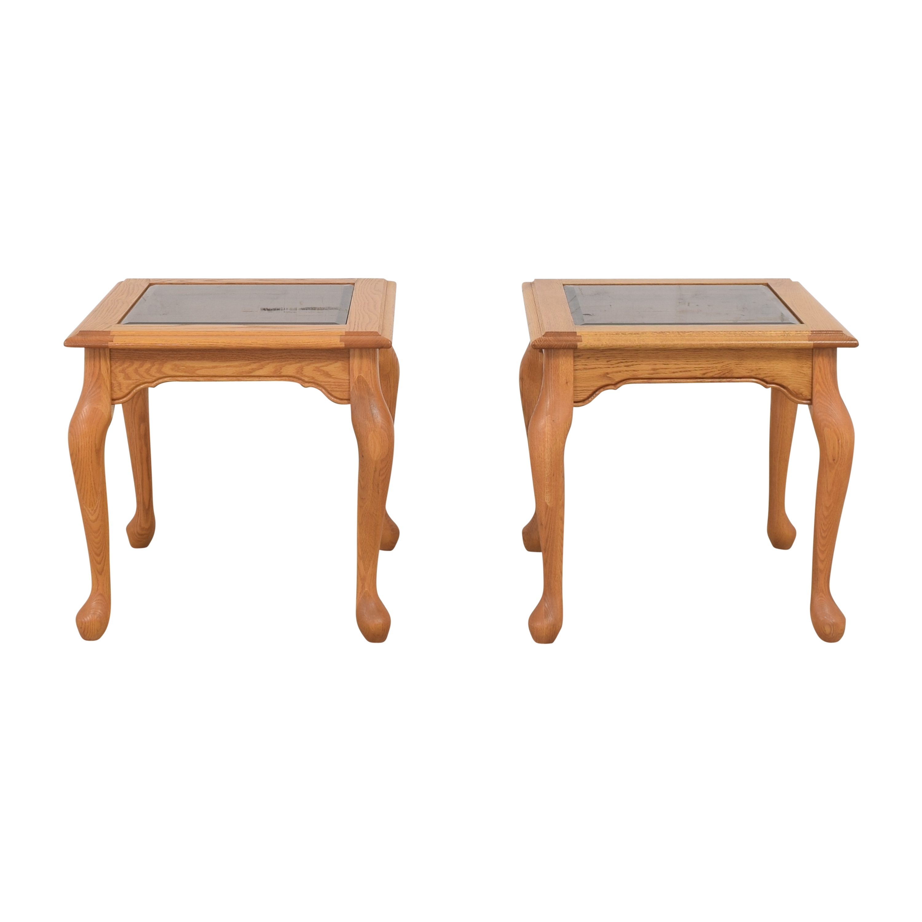 Heirloom Furniture Square End Tables / Tables