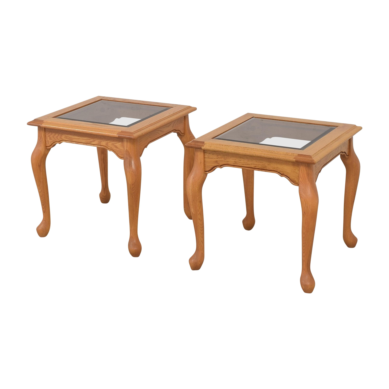 Heirloom Furniture Heirloom Furniture Square End Tables Tables