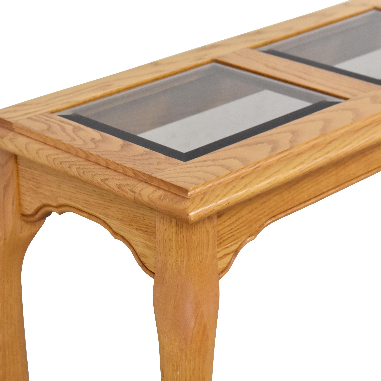 Heirloom Furniture Heirloom Furniture Paneled Console Table nj