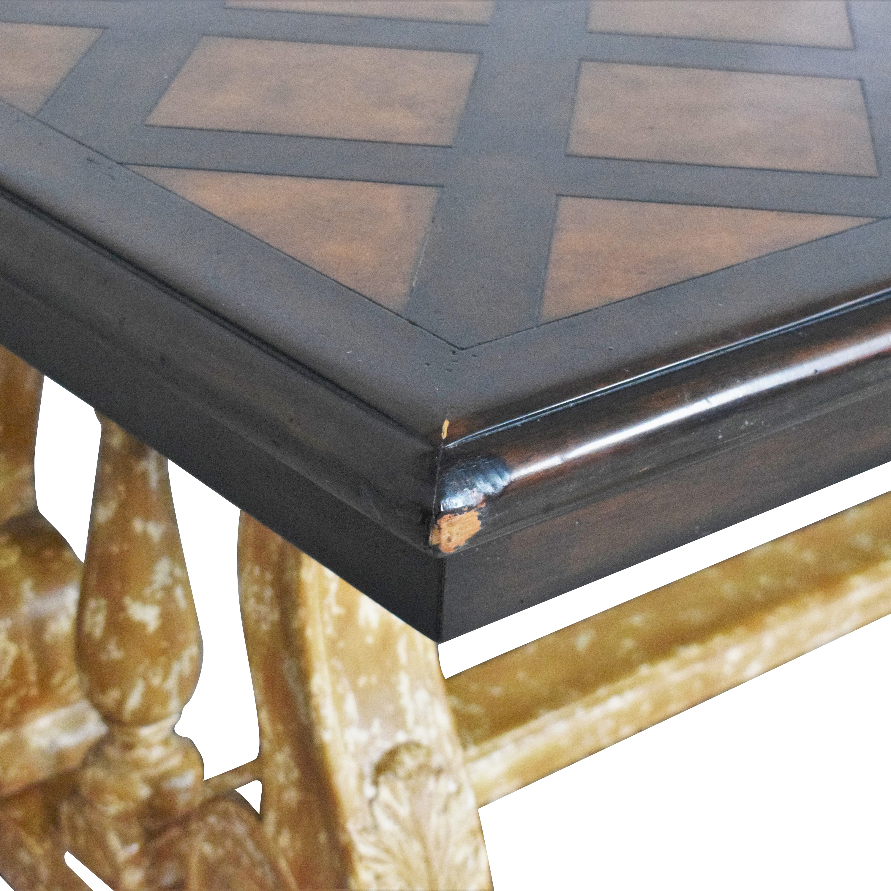 buy Theodore Alexander Madrid Extension Dining Table Theodore Alexander