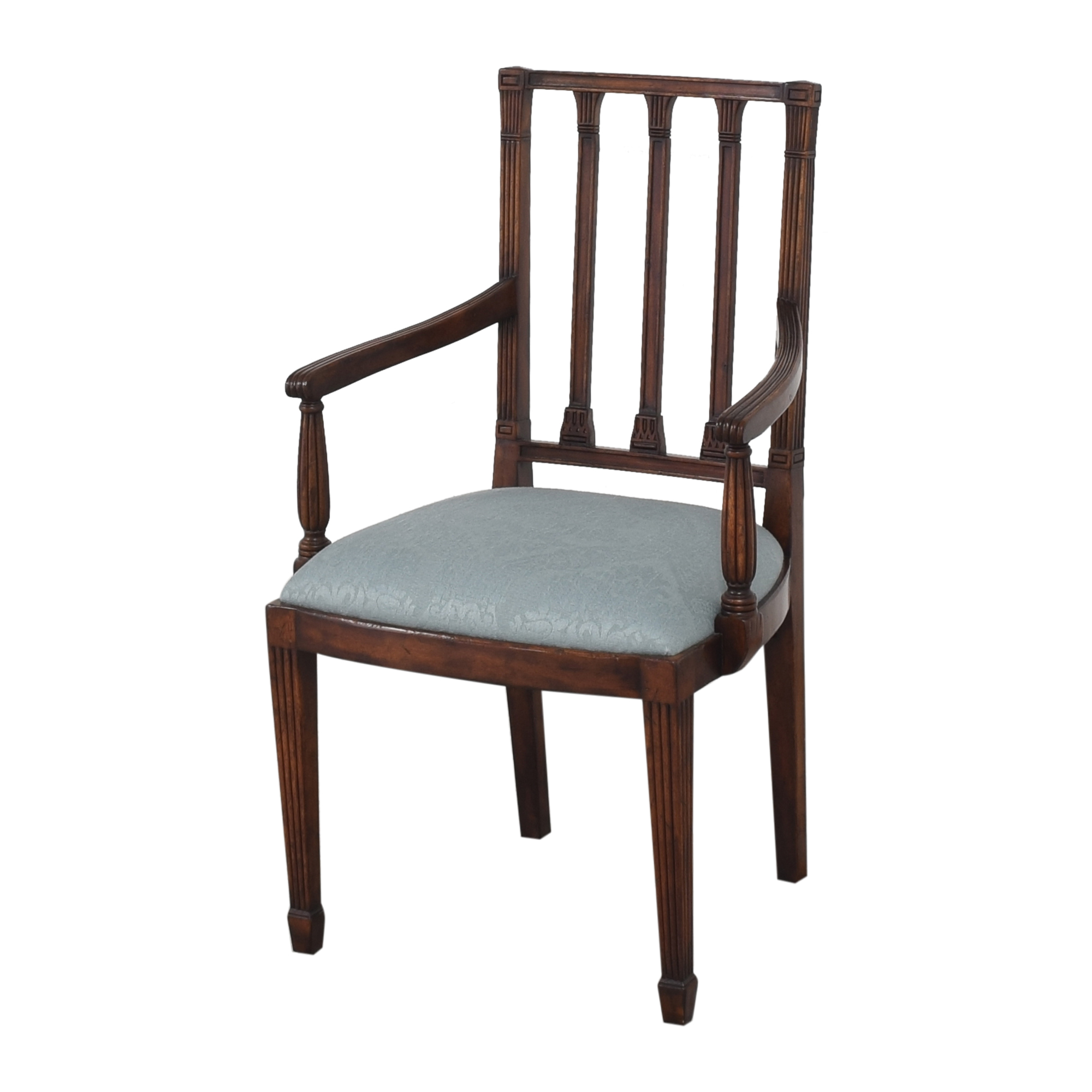 shop English Country Home English Country Home Upholstered Dining Arm Chairs online