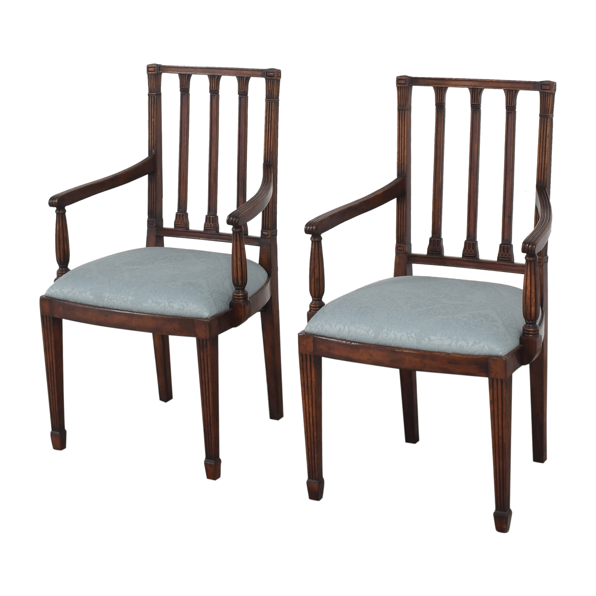 shop English Country Home Upholstered Dining Arm Chairs English Country Home Chairs