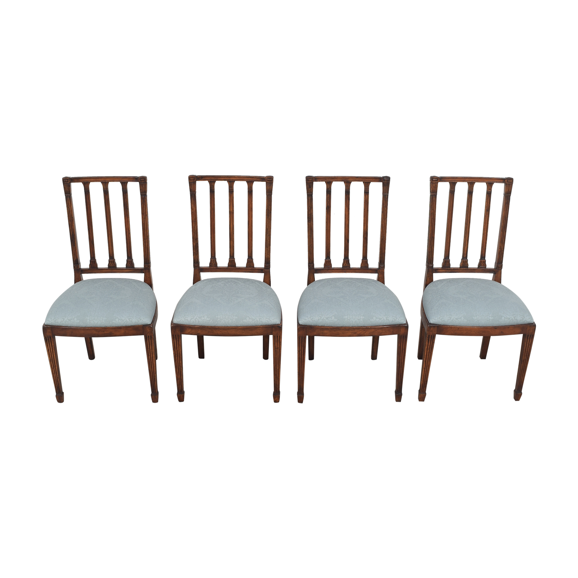 English Country Home English Country Home Upholstered Dining Chairs dimensions