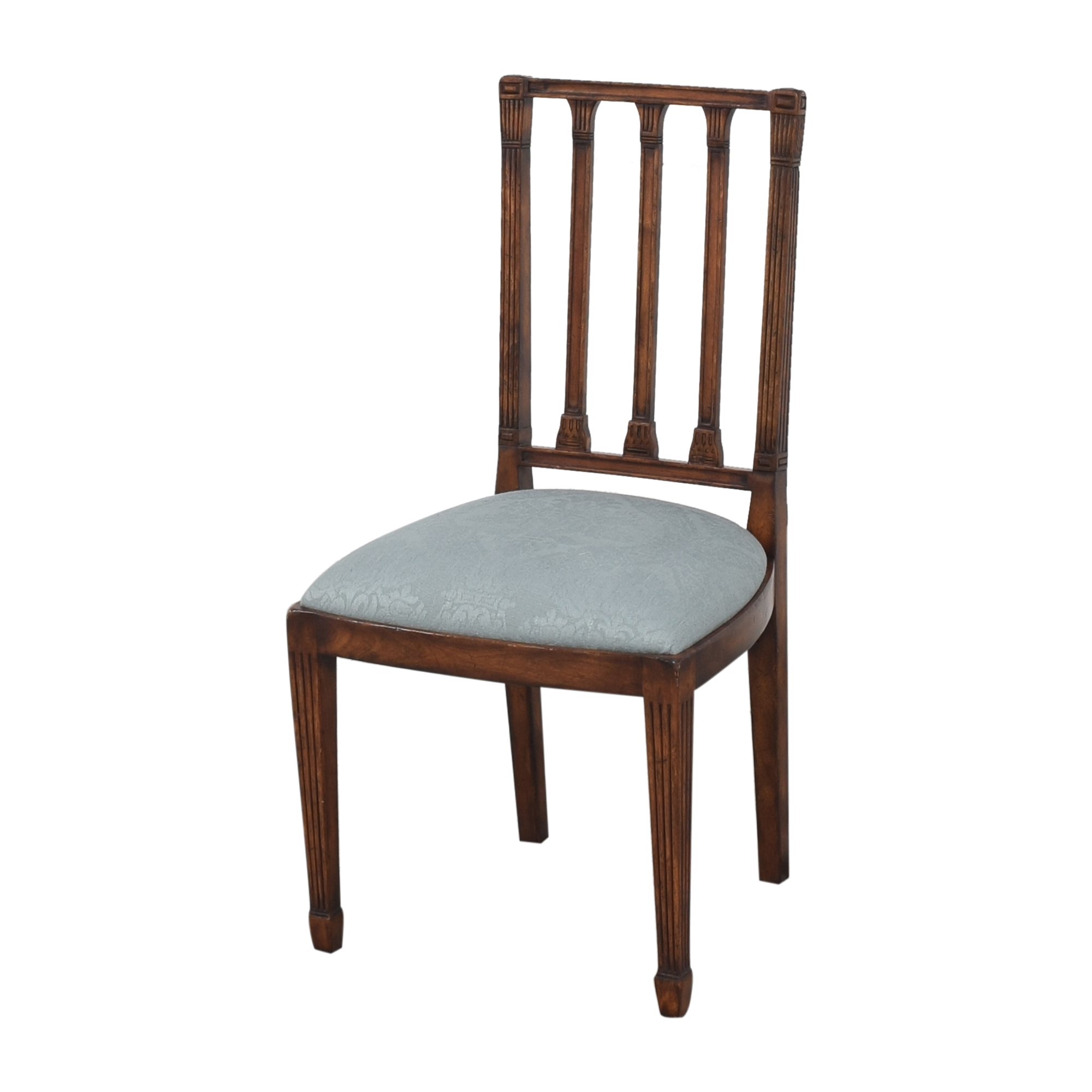 English Country Home English Country Home Upholstered Dining Chairs nyc