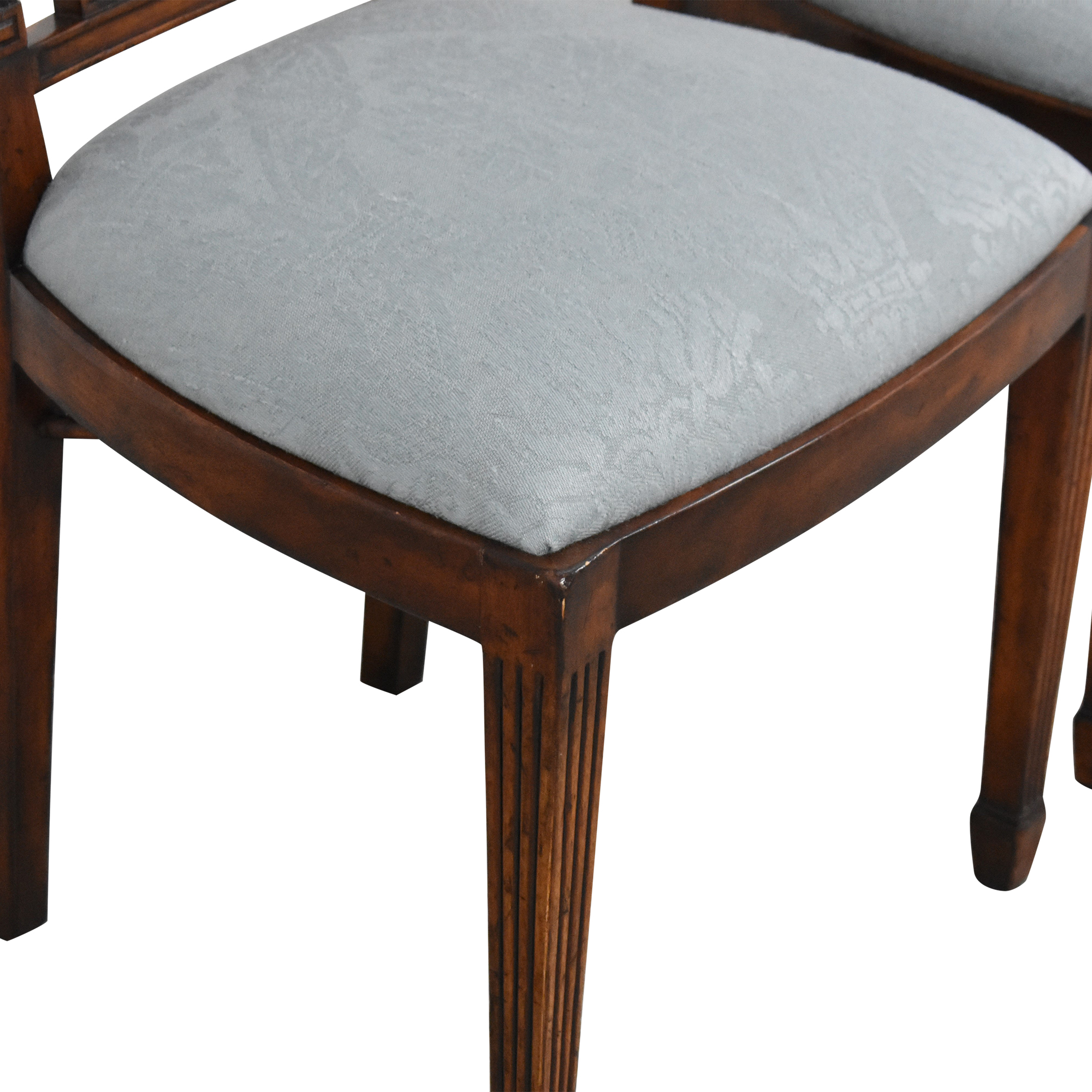 buy English Country Home Upholstered Dining Chairs English Country Home