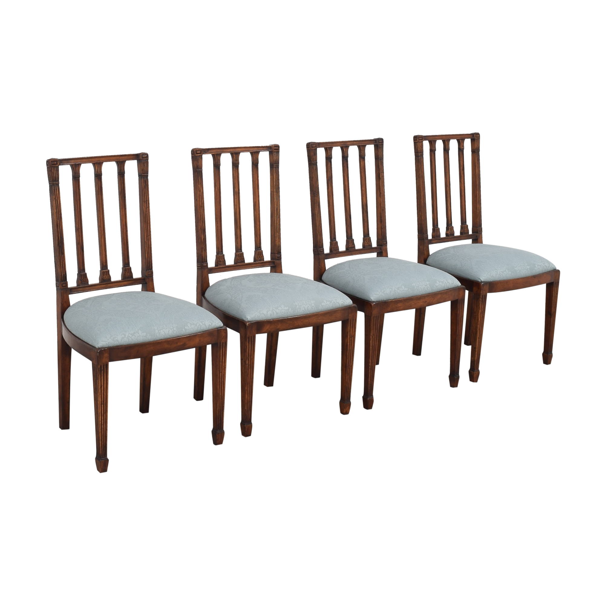 buy English Country Home English Country Home Upholstered Dining Chairs online