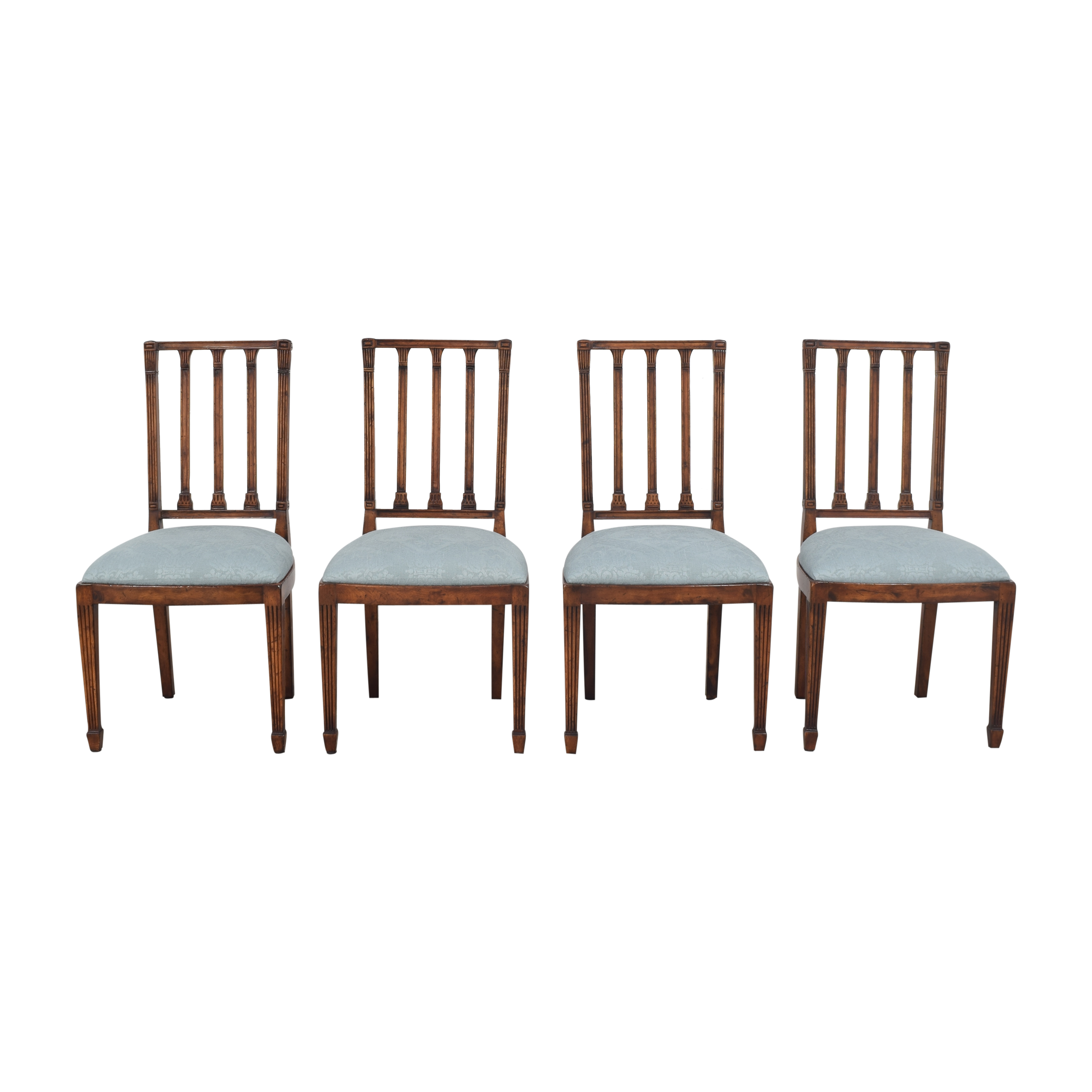 English Country Home English Country Home Upholstered Dining Side Chairs Chairs