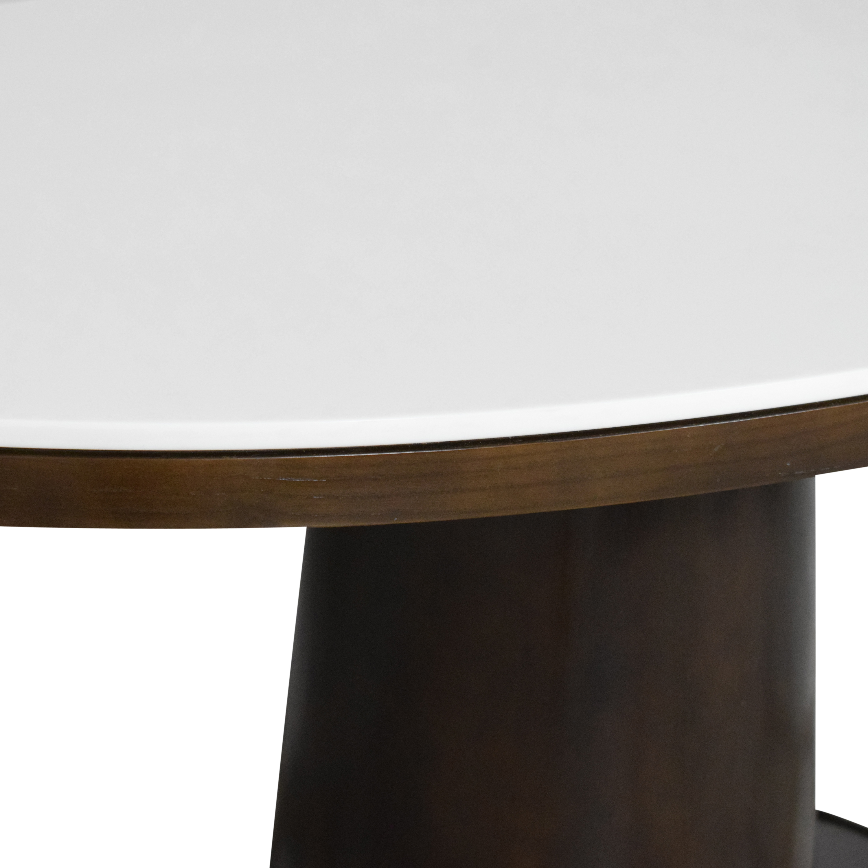 McGuire McGuire Barbara Barry Classic Oval Pedestal Table second hand