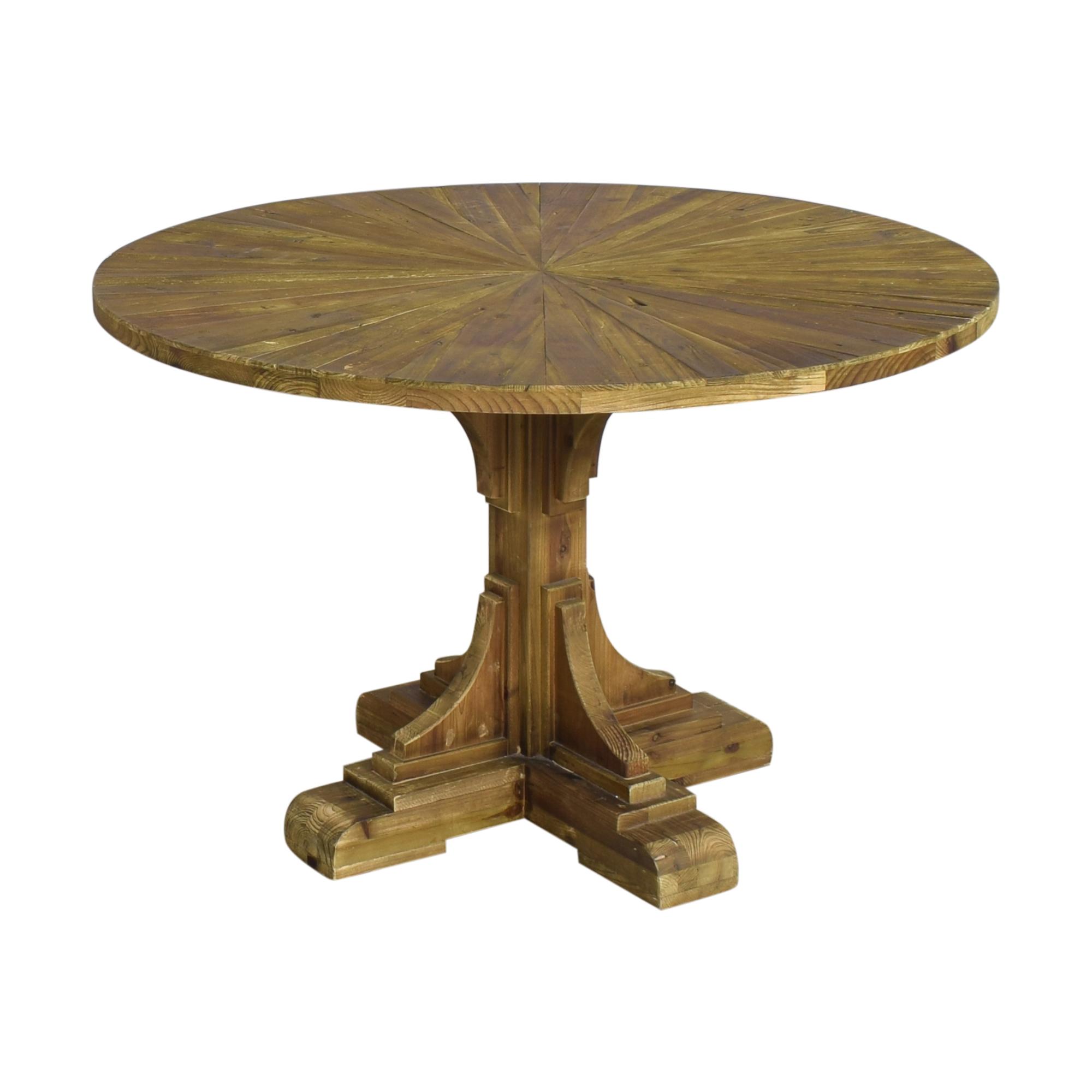 Wayfair Wayfair One Allium Way Davi Pedestal Dining Table Tables