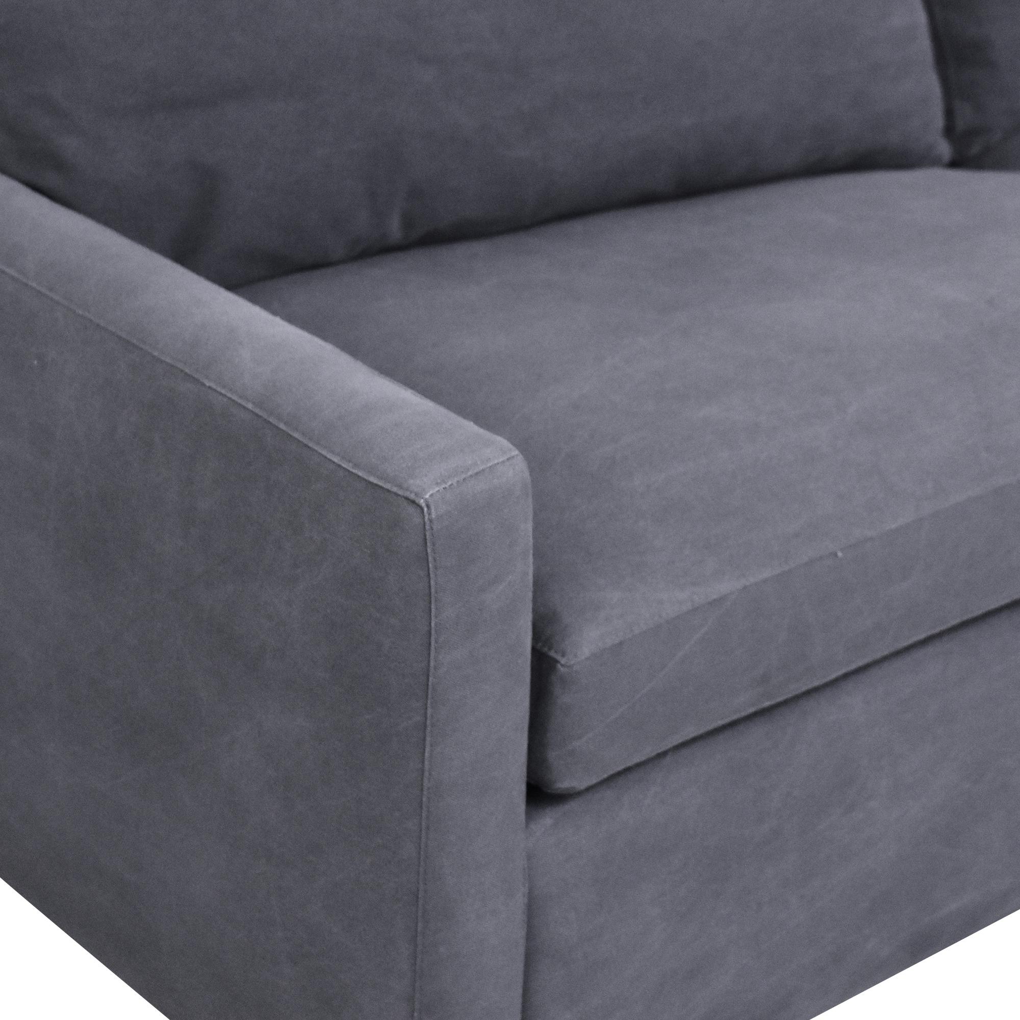 ABC Carpet & Home  ABC Carpet & Home Cobble Hill Lucali Sleeper Sectional Sofas