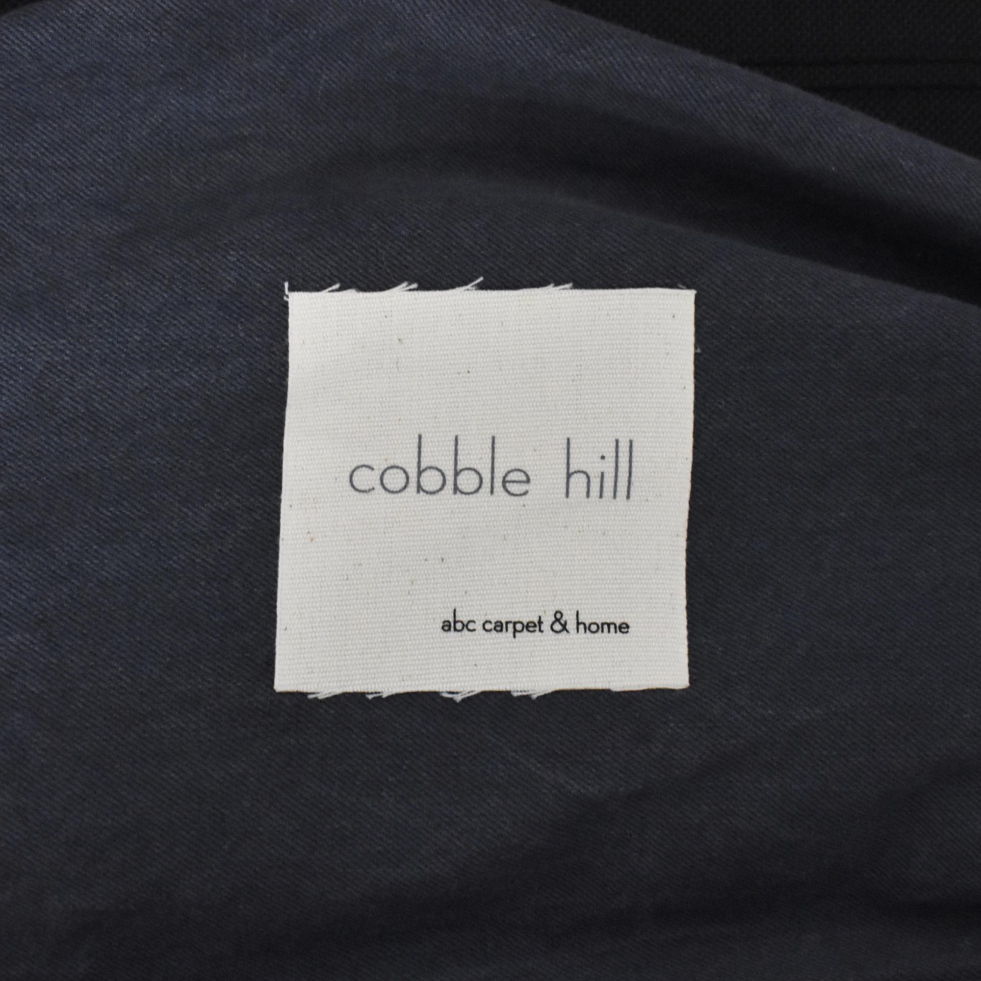 ABC Carpet & Home  ABC Carpet & Home Cobble Hill Lucali Sleeper Sectional blue