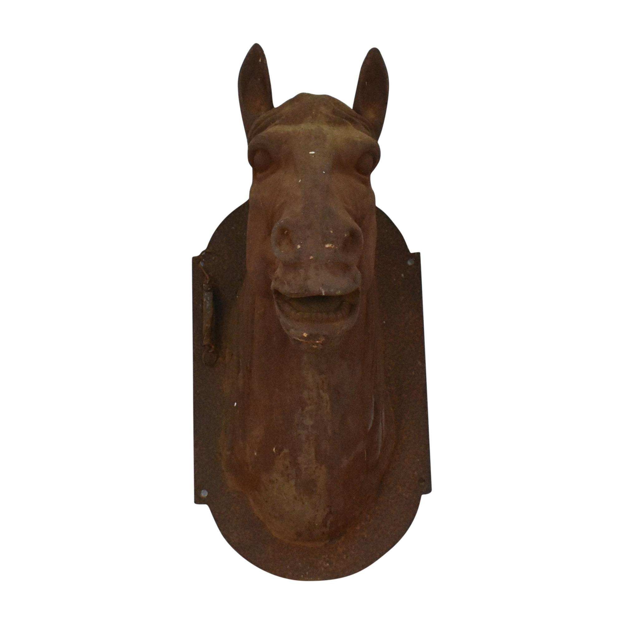Antique Horse Head Decoration pa