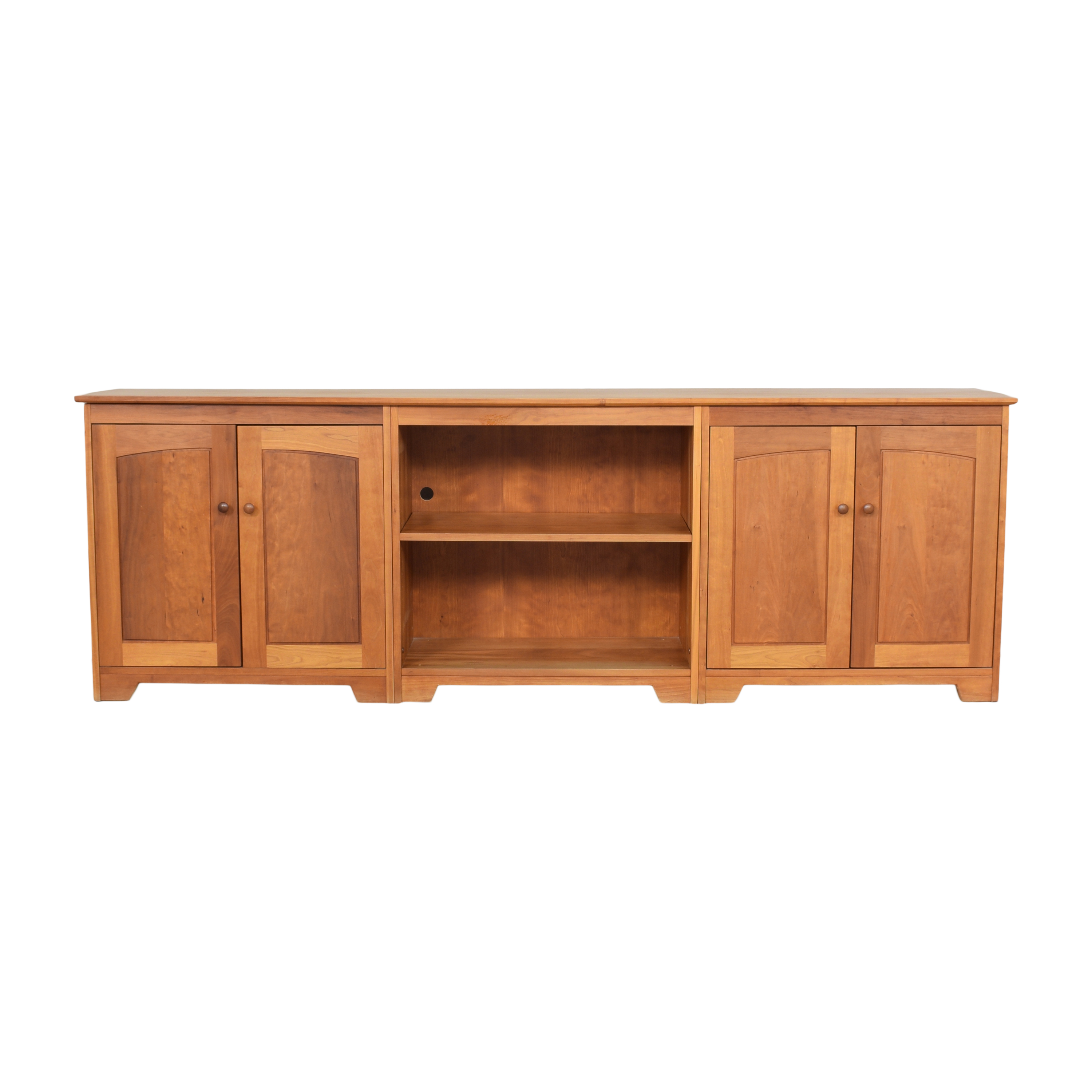 Scott Jordan Furniture Scott Jordan Furniture Three Piece Entertainment Console used