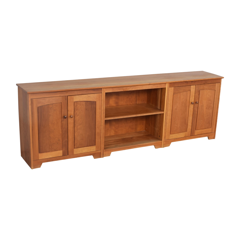 buy Scott Jordan Furniture Three Piece Entertainment Console Scott Jordan Furniture Storage