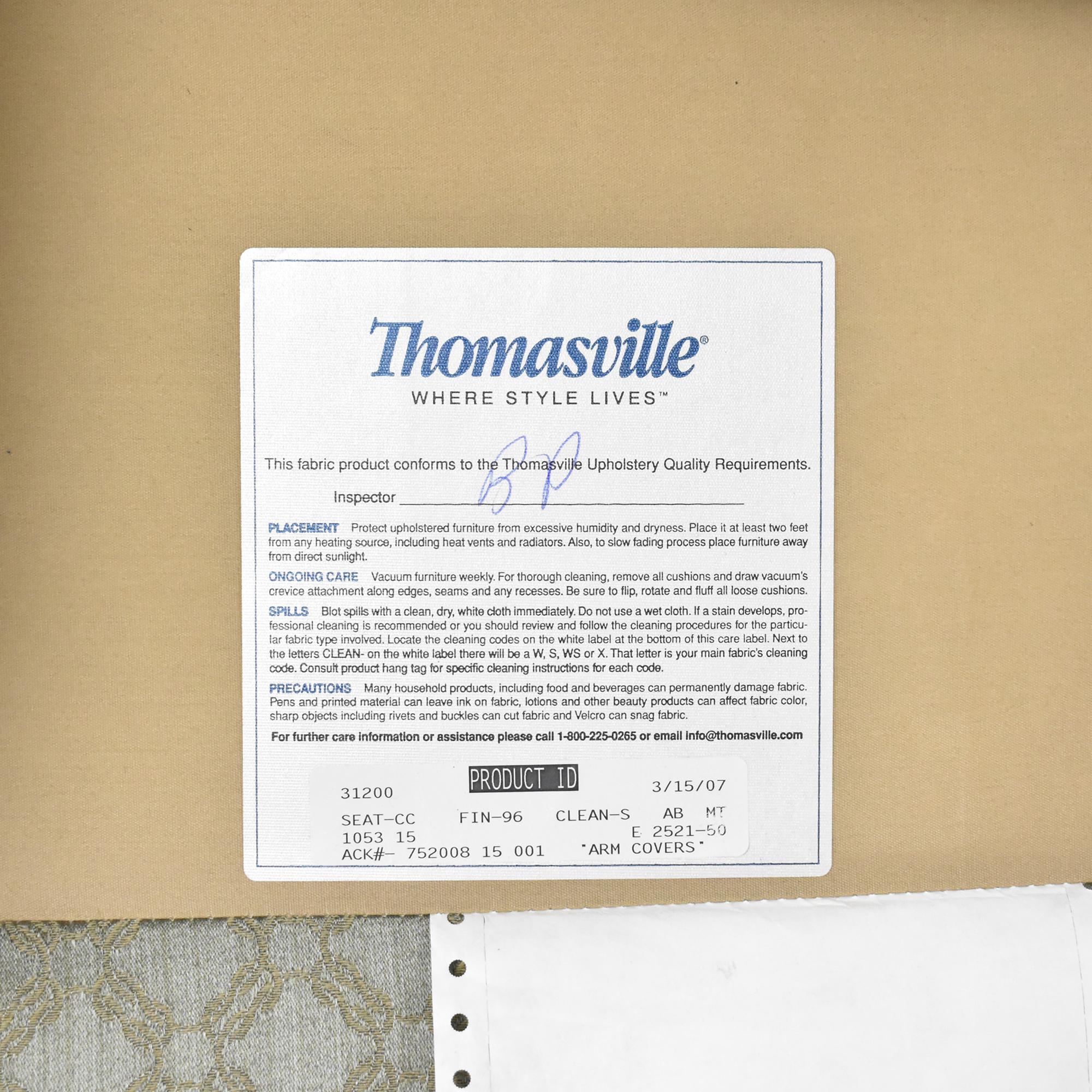 Thomasville Wing Chair Thomasville