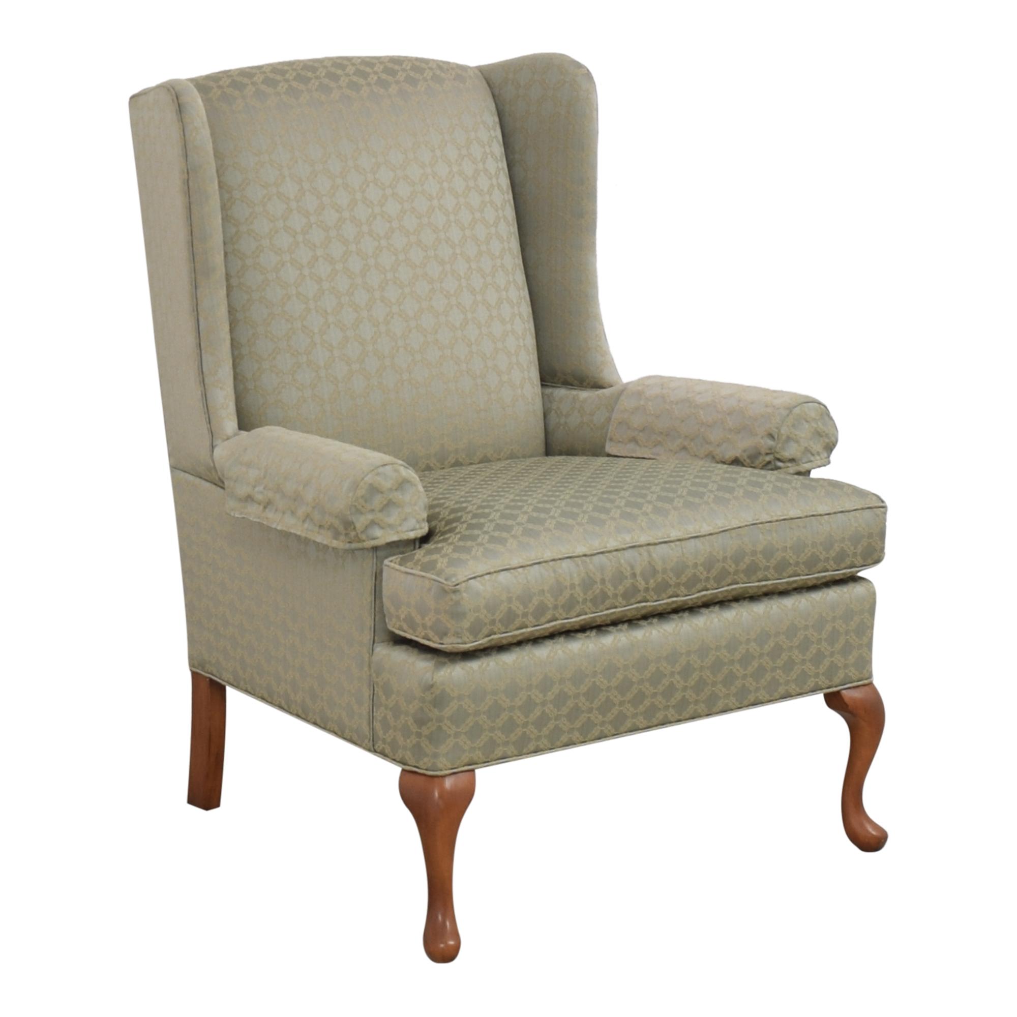 shop Thomasville Wing Chair Thomasville