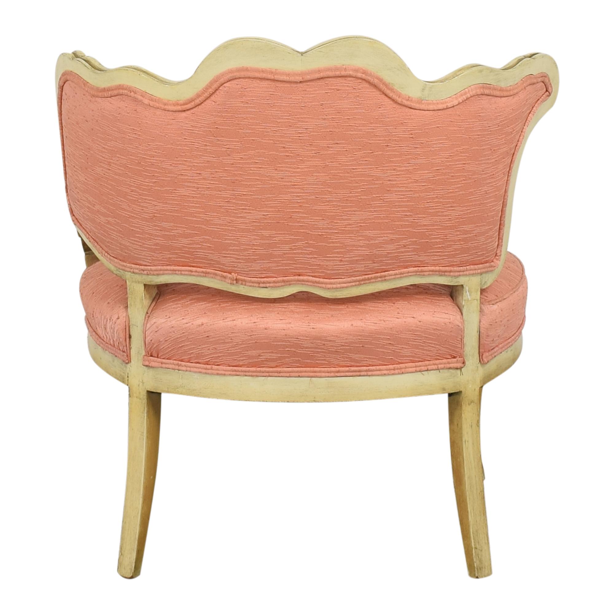 shop Vintage Boudoir Single Arm Accent Chair  Chairs