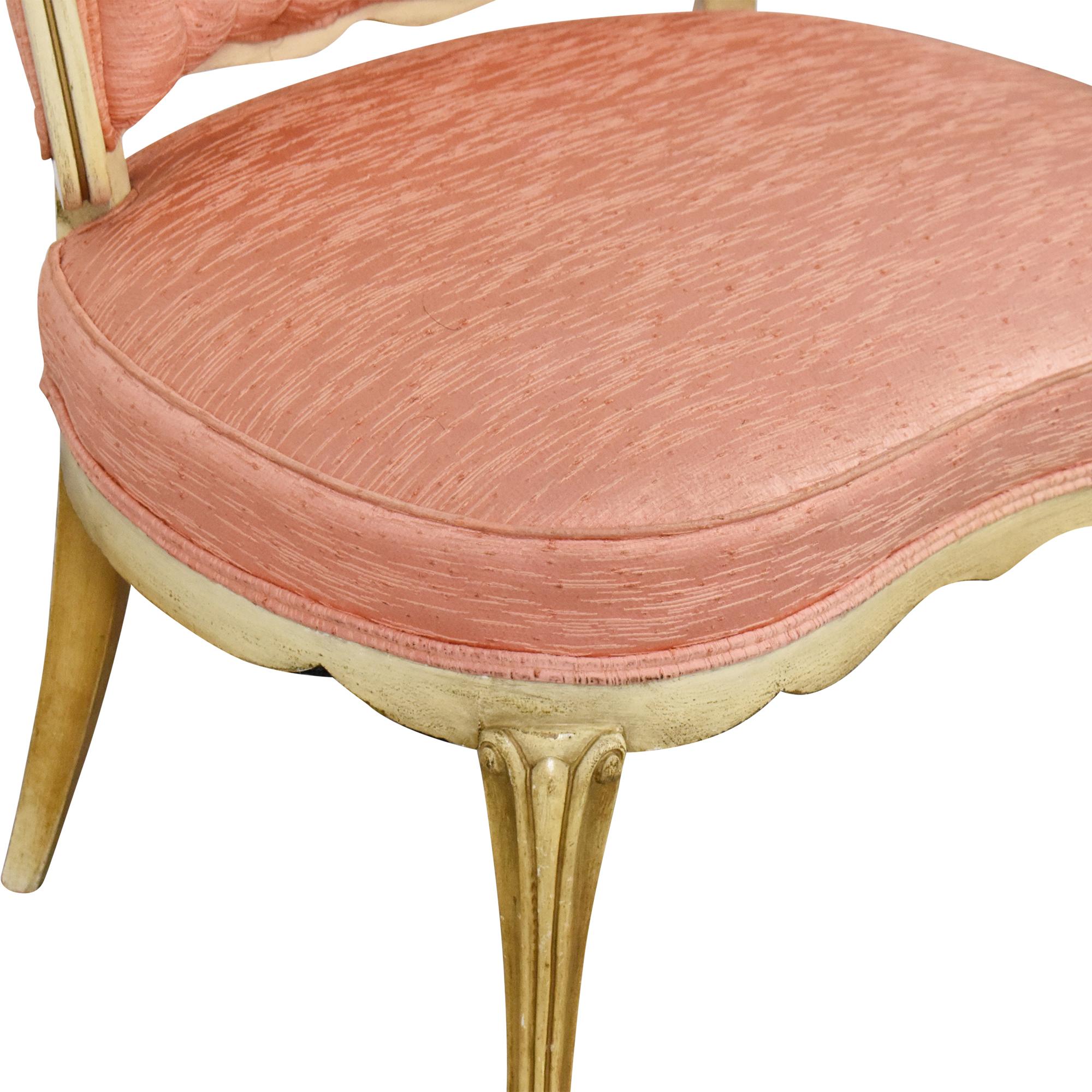 Vintage Boudoir Single Arm Accent Chair nyc