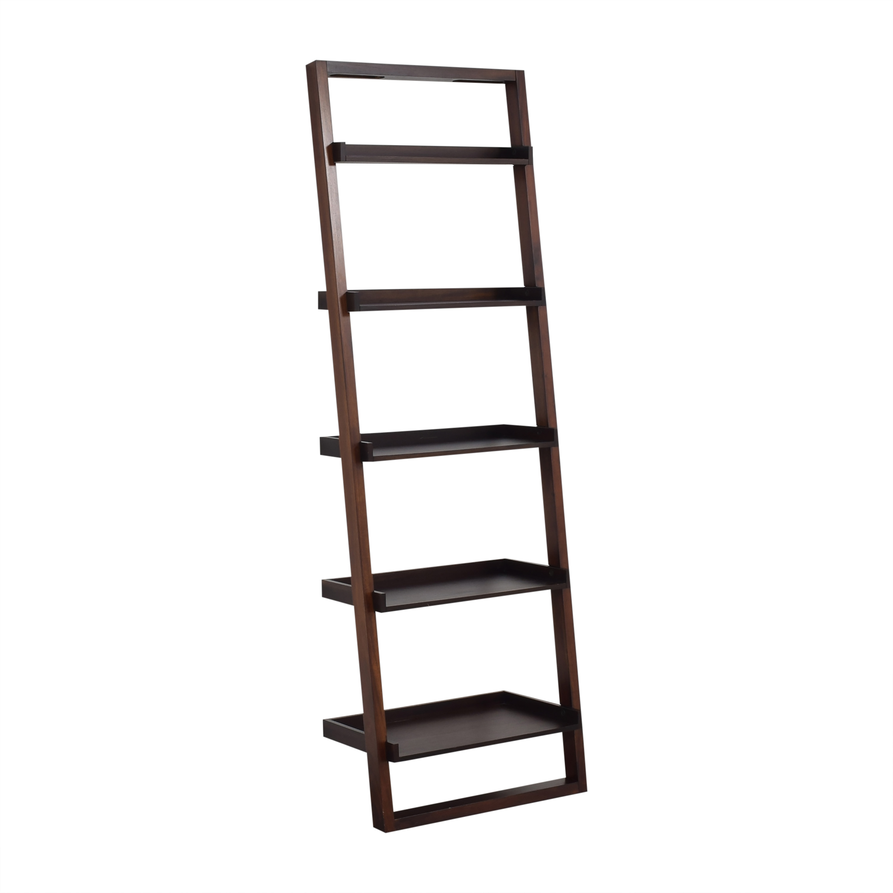 Crate & Barrel Crate & Barrel Sloane Leaning Bookcase second hand
