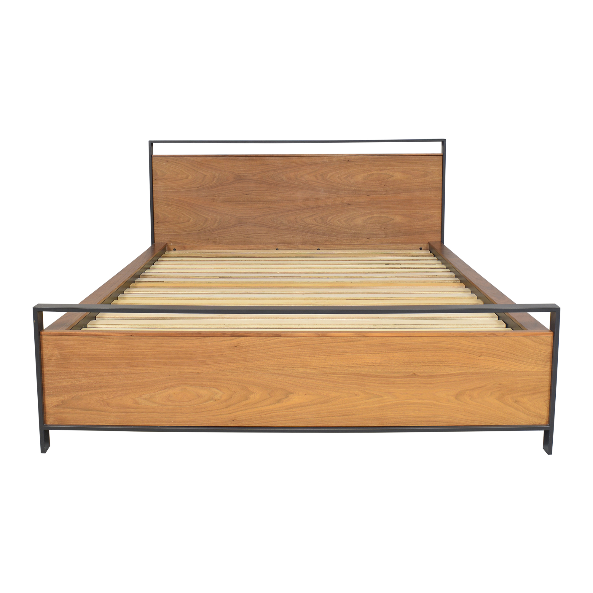Crate & Barrel Crate & Barrel Bowery Storage Queen Bed dimensions