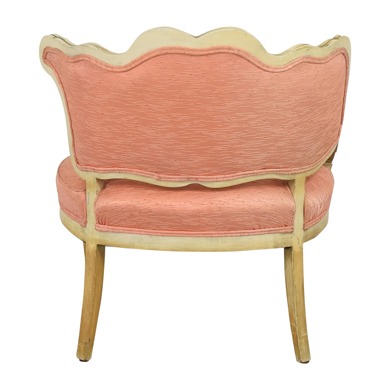 shop Vintage Boudoir Single Arm Accent Chair  Accent Chairs