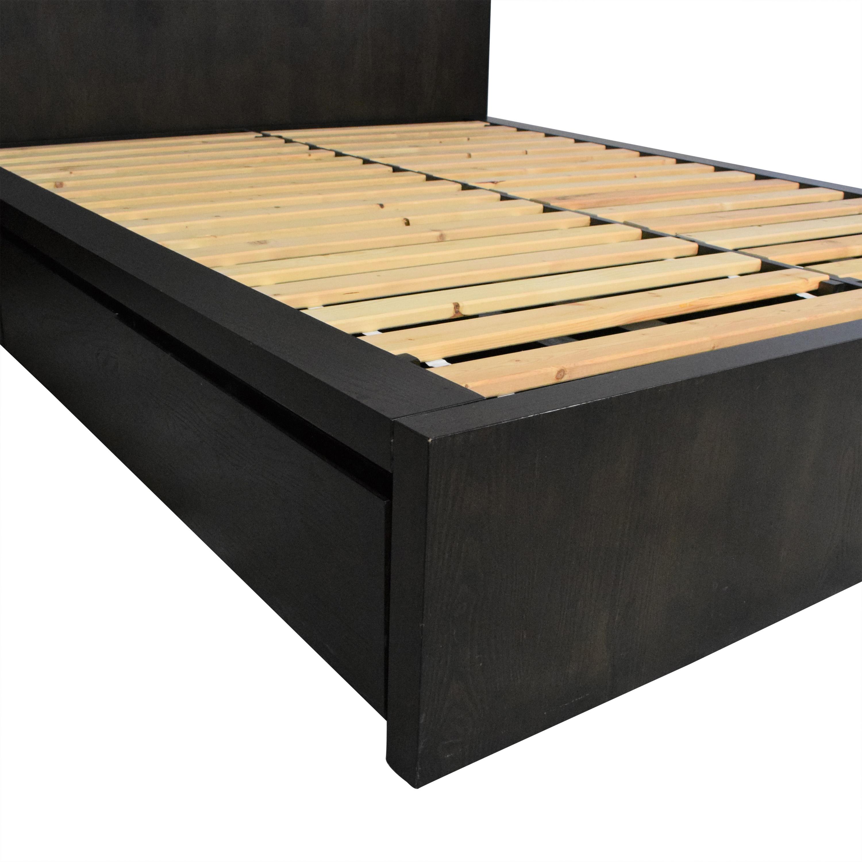 West Elm West Elm Storage Platform Queen Bed with Nightstand second hand