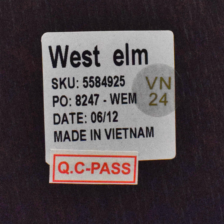 West Elm West Elm Storage Platform Queen Bed with Nightstand ct