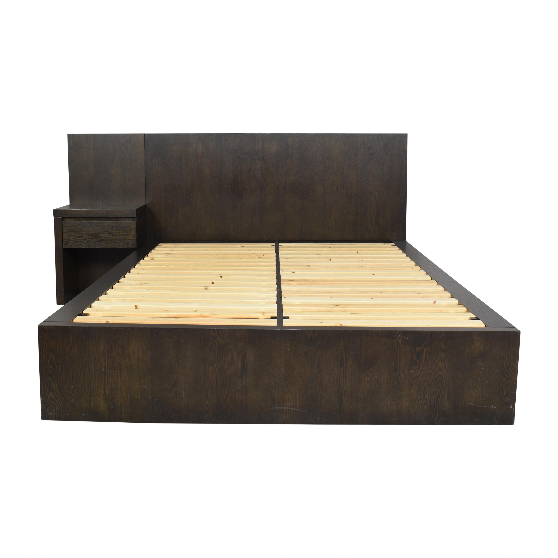 buy West Elm Storage Platform Queen Bed with Nightstand West Elm Beds