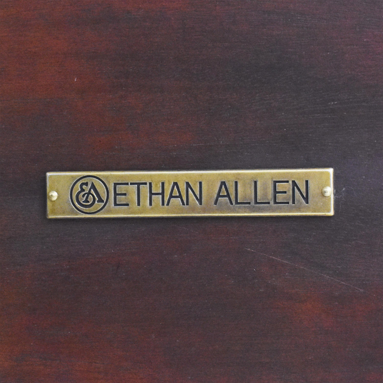 shop Ethan Allen Rectangular Coffee Table Ethan Allen Tables