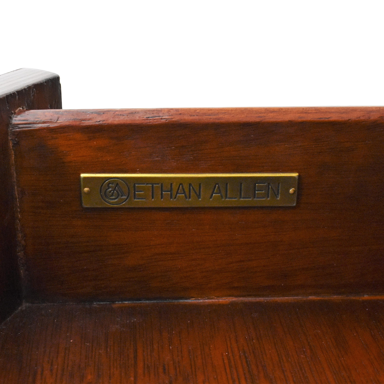 Ethan Allen Ethan Allen Townhouse Regan Demilune Buffet brown