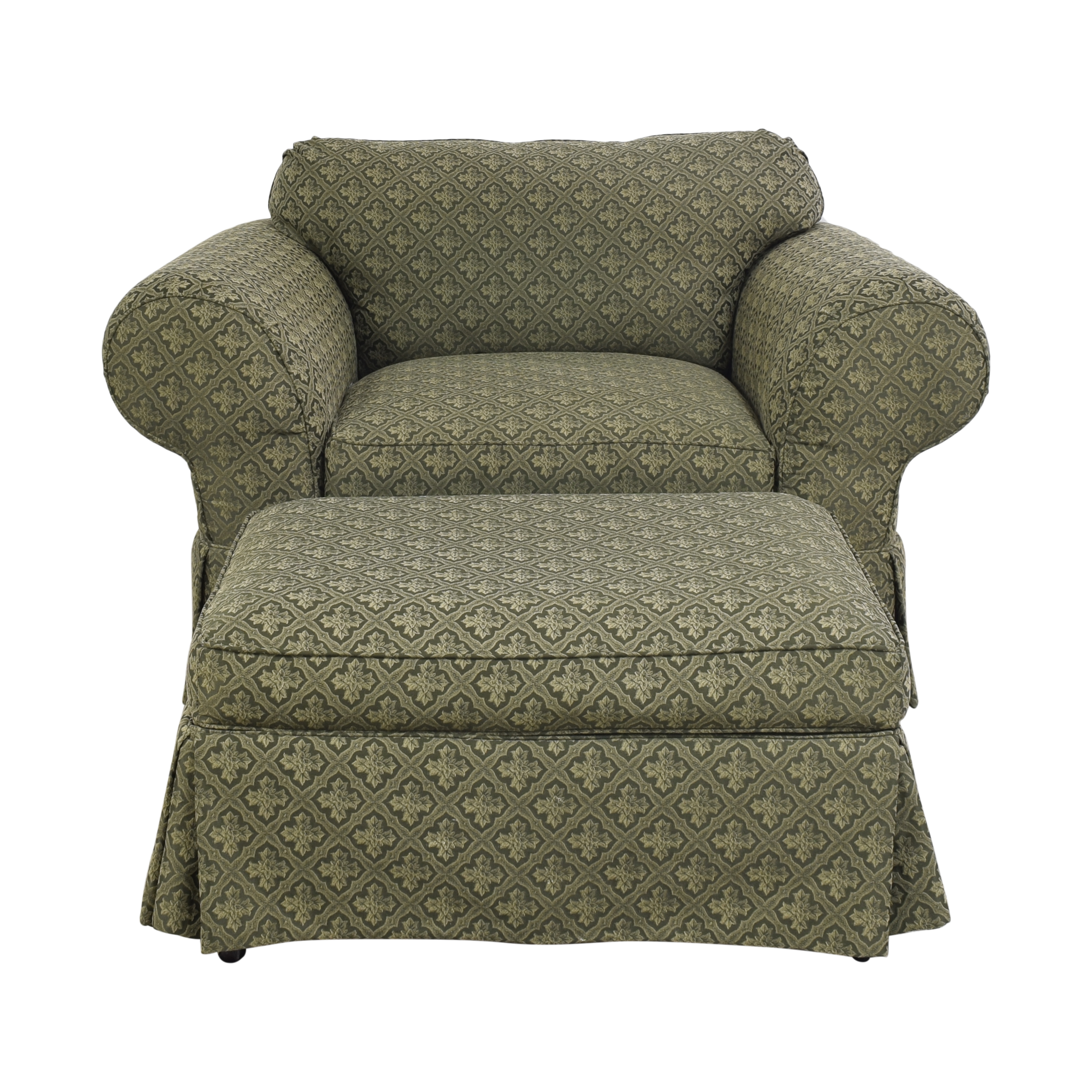 buy Broyhill Lounge Chair with Ottoman Broyhill Furniture