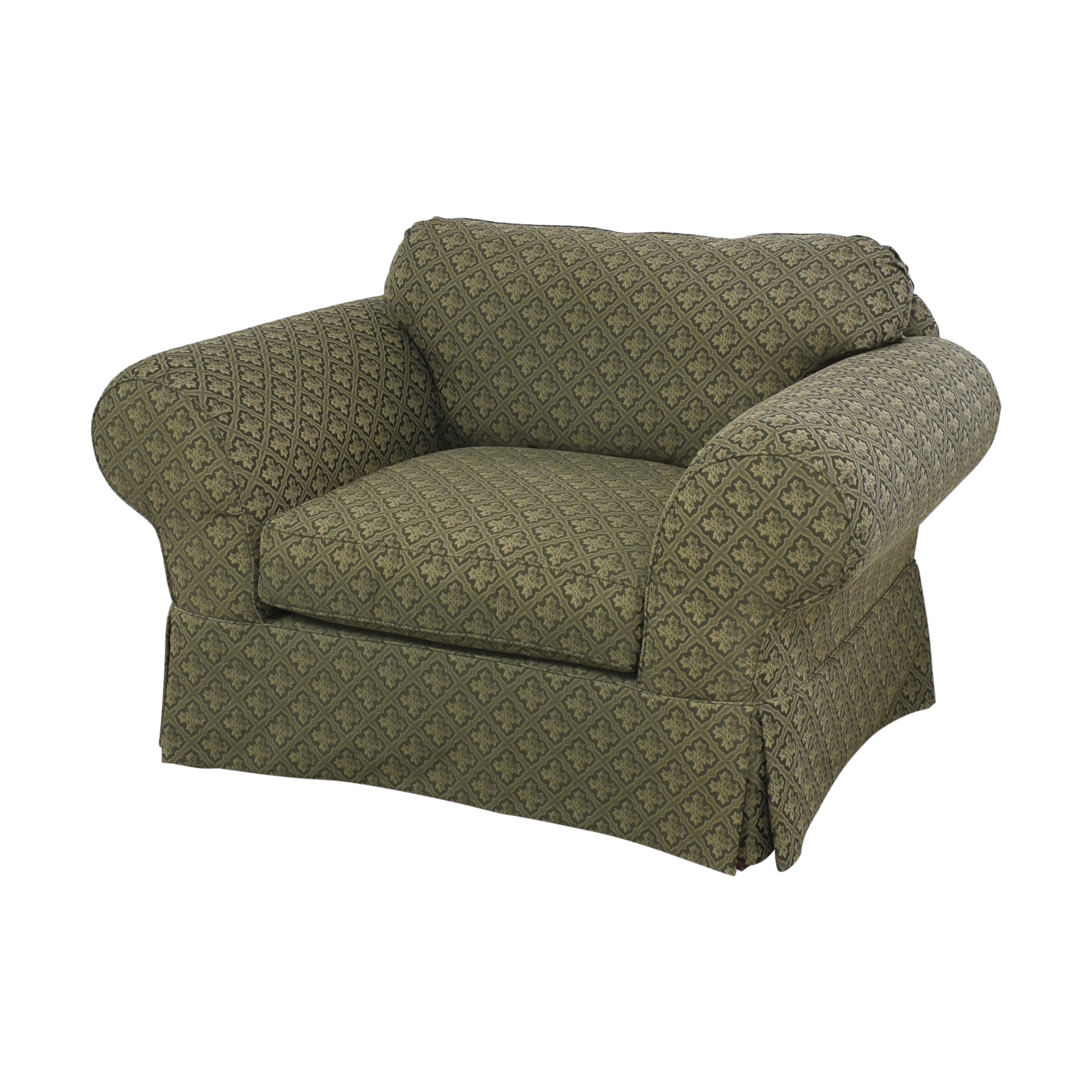 Broyhill Furniture Broyhill Lounge Chair with Ottoman Chairs
