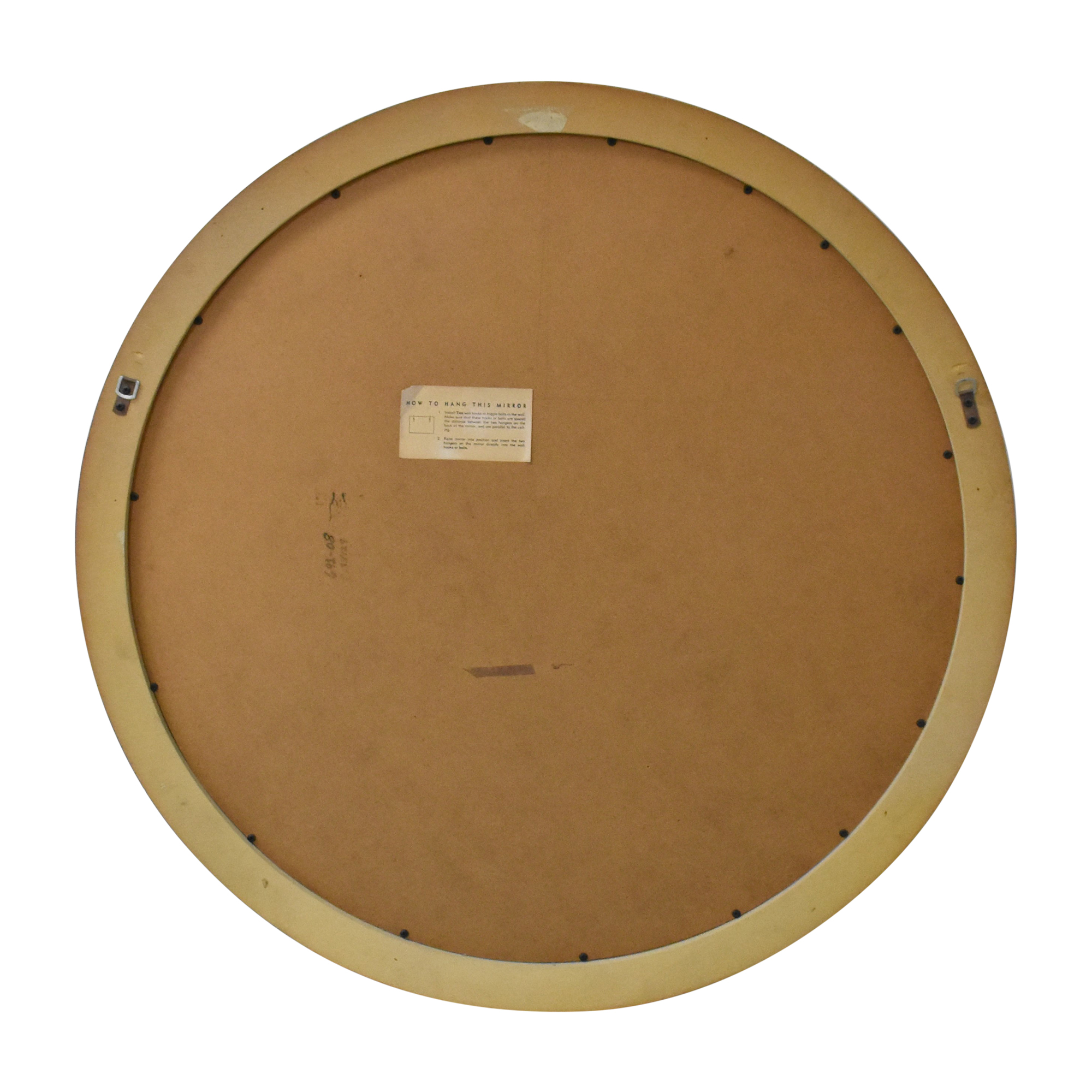 Lane Furniture Lane Furniture Round Art Deco Mirror dimensions