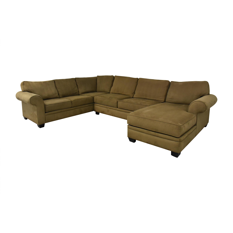 Macy's Macy's Corner Sectional Sofa with Chaise nyc