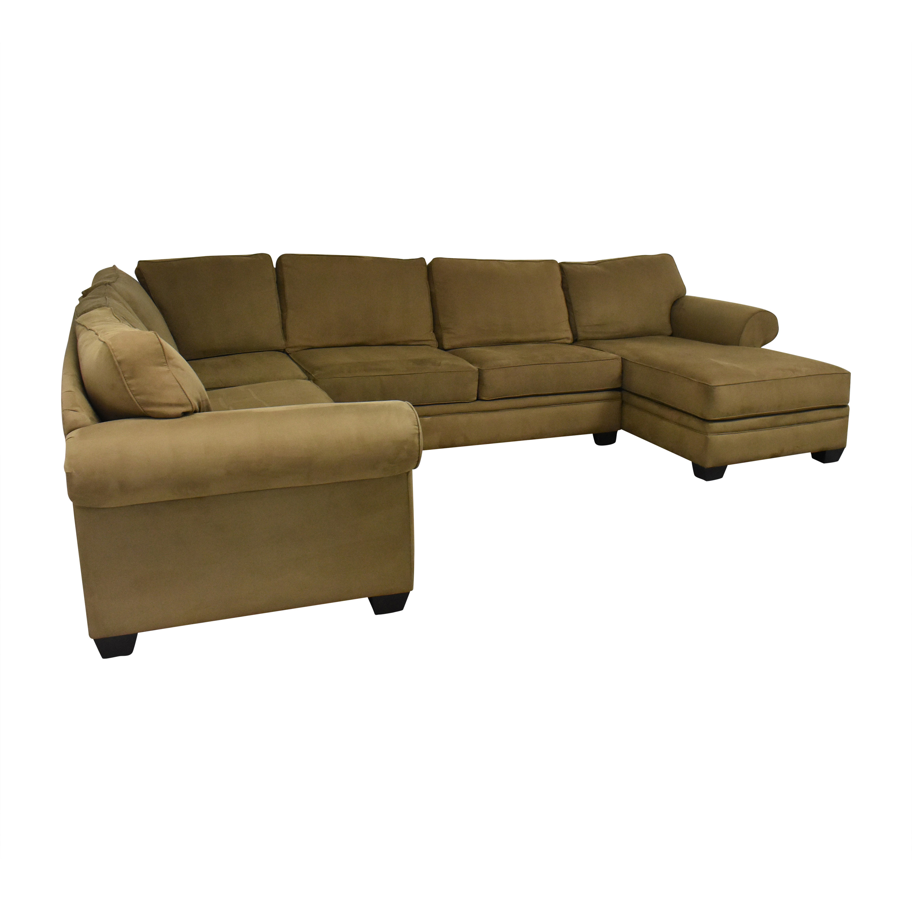 Macy's Macy's Corner Sectional Sofa with Chaise Sofas