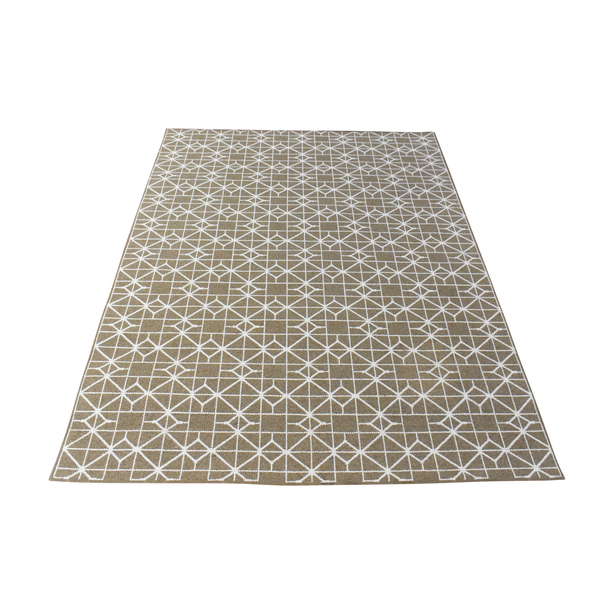Geometric Modern Area Rug used