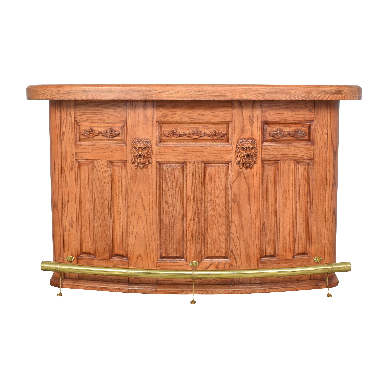 buy Carved Bar Cabinet