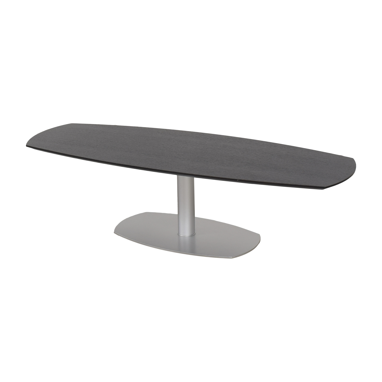 Pedestal Coffee Table pa