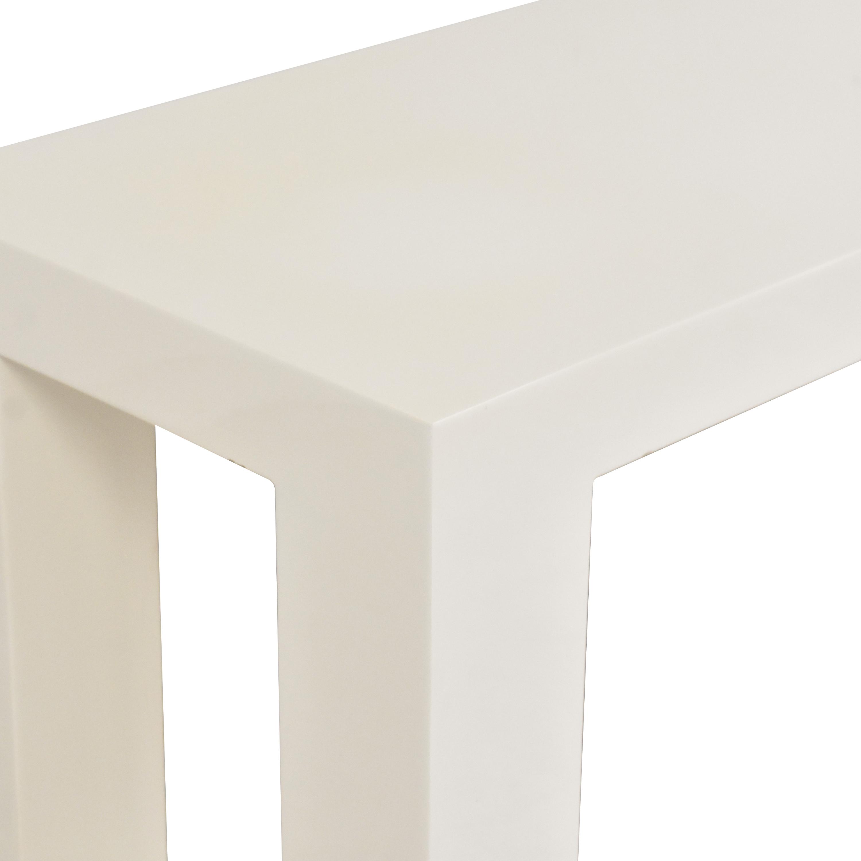 Jonathan Adler Jonathan Adler Custom Parsons Table used