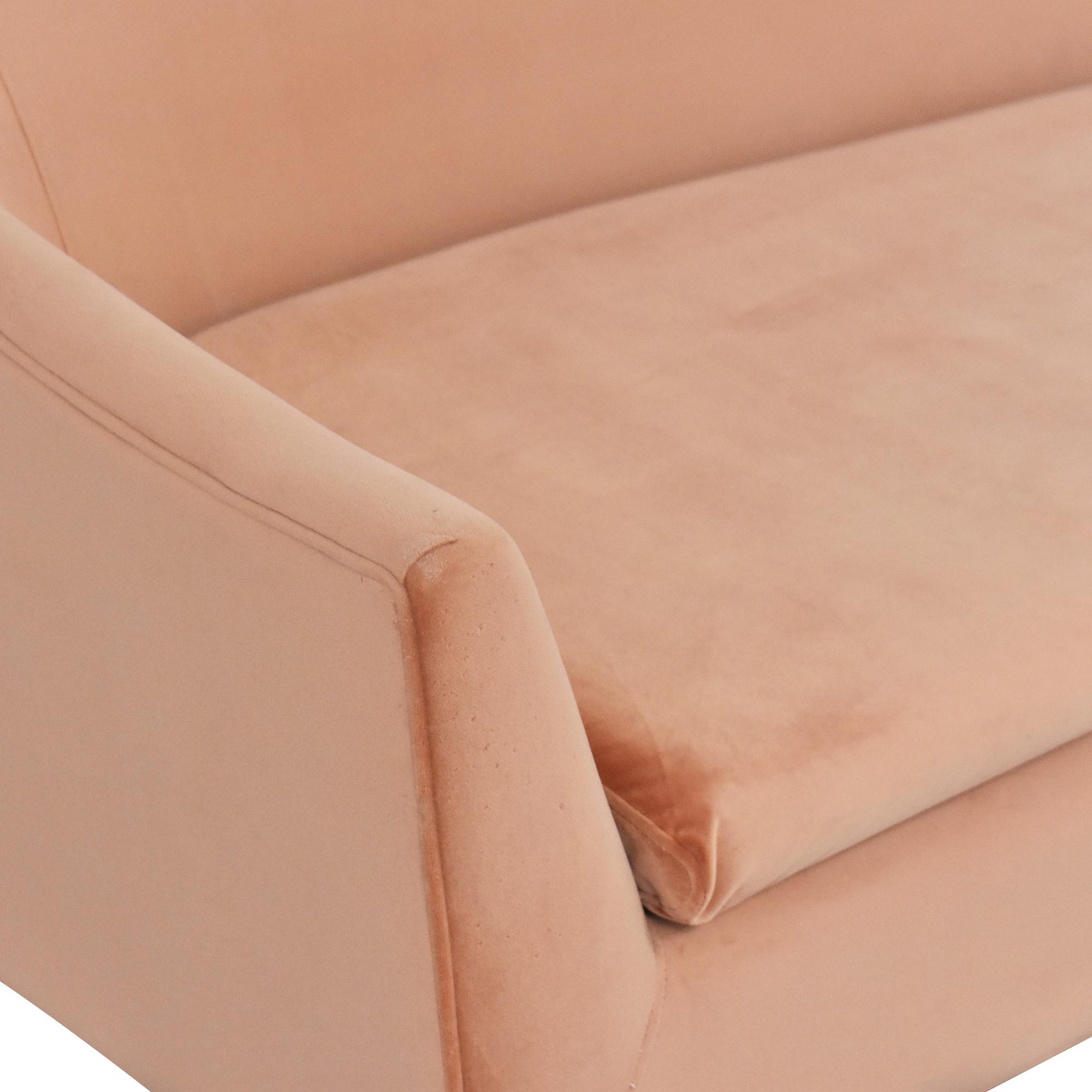 buy Jennifer Taylor Jennifer Taylor Lia Mid Century Modern Sofa online