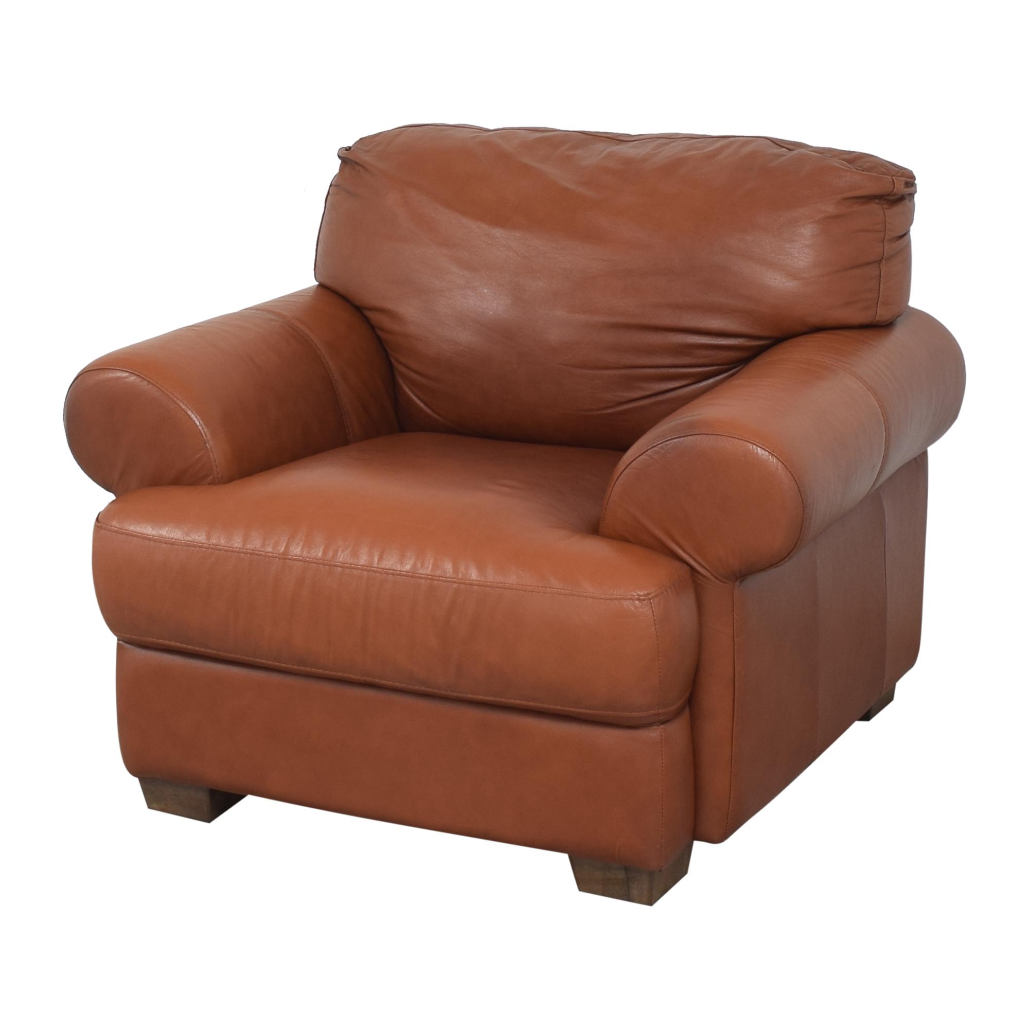 Chateau d'Ax Chateau d'Ax Roll Arm Club Chair on sale